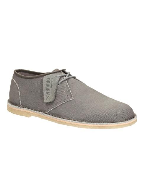 Clarks Bağcıklı Ayakkabı Gri